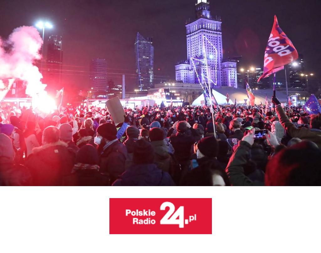 Politolog oprotestach Strajku Kobiet: opuściły ramy debaty zzachowaniem szacunku dlasłowa idrugiego człowiekadr Bartłomiej Machnik, EMBA