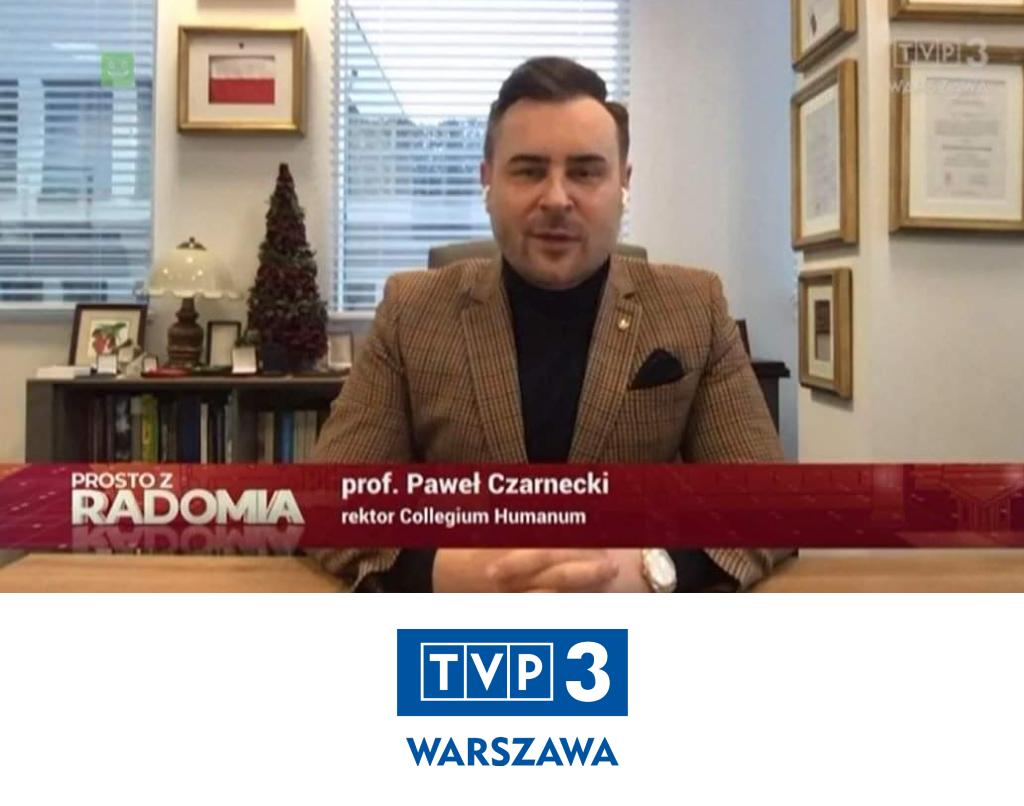 Prosto zRadomiaprof. drhab. Paweł Czarnecki, MBA, DBA, LL.M, MPH Drh.c