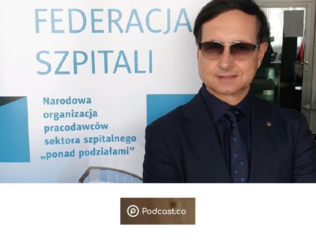 """Prof. Jarosław J.Fedorowski – """"Wyzwania dlasystemu zdrowia wczasie pandemii"""""""