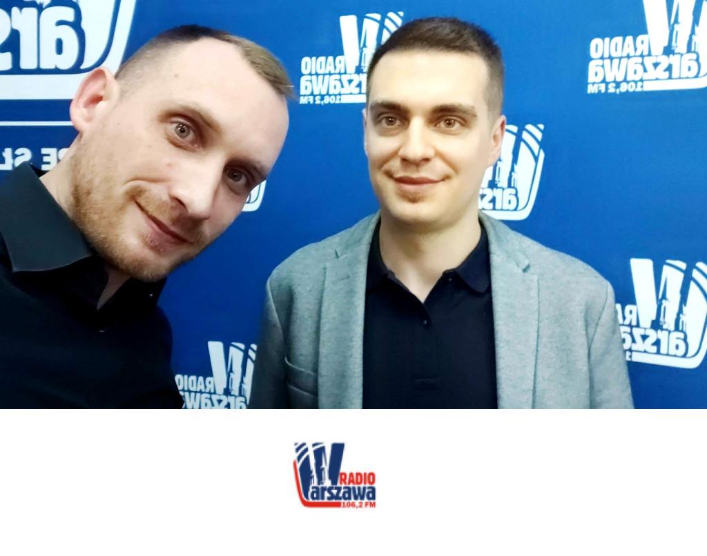 """dr Bartosz Łukaszewski, Radio Warszawa, audycja """"Tu Była Warszawa"""" natemat warszawskiego hip-hopu."""