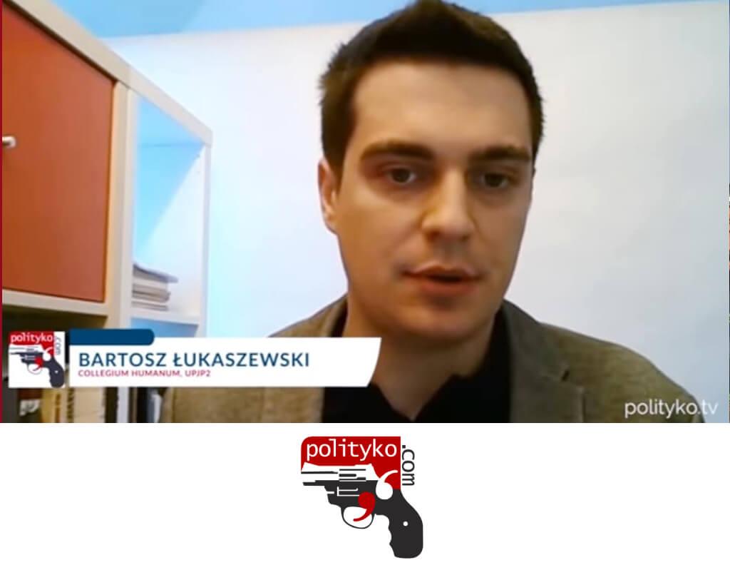 dr Bartosz Łukaszewski, Polityko TV, Stosunek Włochów doUnii Europejskiej