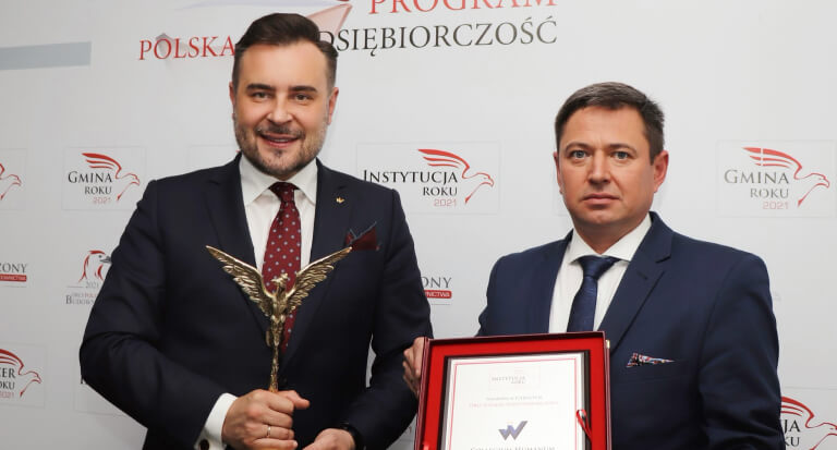 Collegium Humanum Instytucją Roku 2021 wPolsce