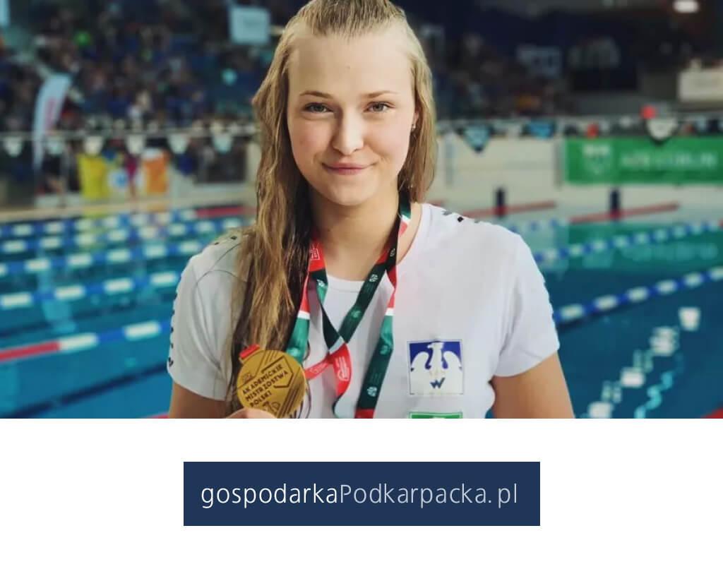 Dominika Kulaga ze złotymi medalami Akademickich Mistrzostw Polski