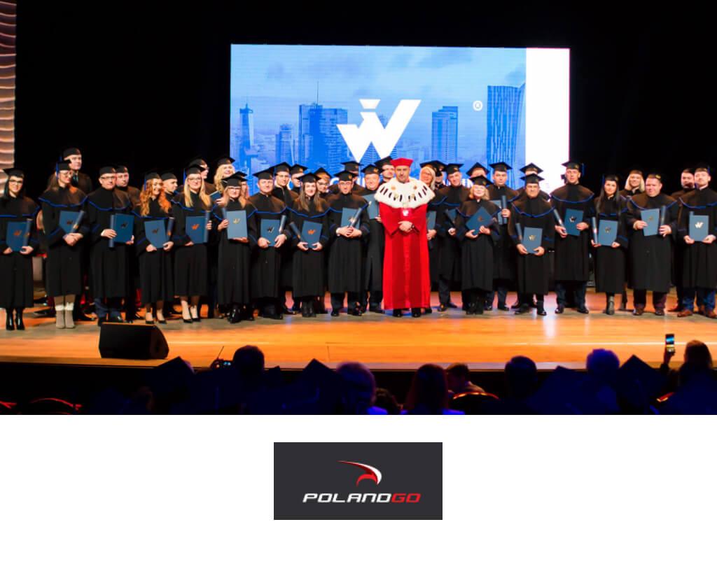 Collegium Humanum zgraduacją naświatowym poziomie