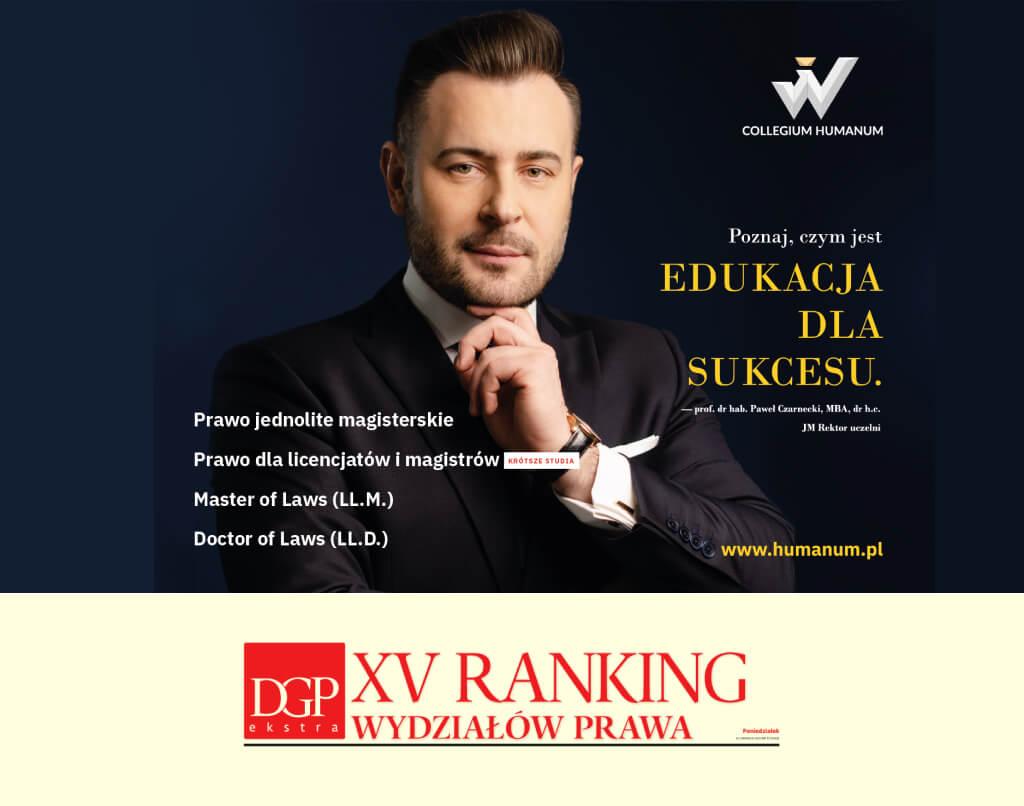XV Ranking Wydziałów Prawa