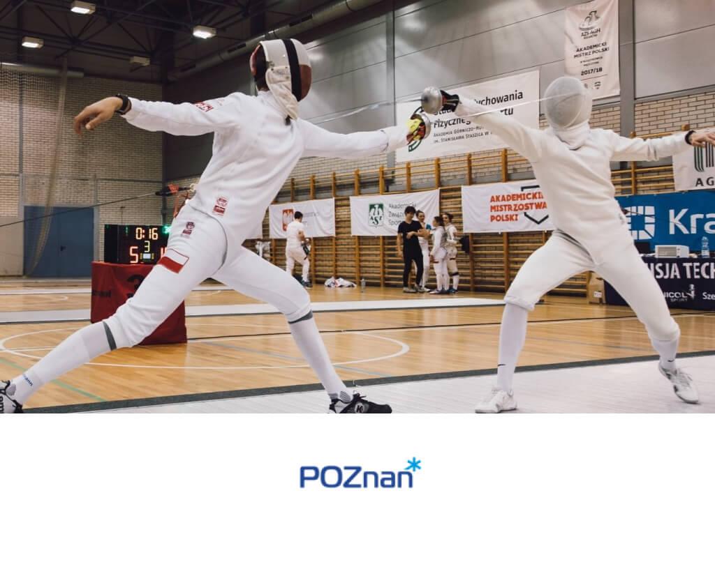 Szermierze zaczynają Akademickie Mistrzostwa Polski