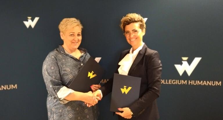 Porozumienie partnerskie owspółpracy Rzeszowskiej Filii Collegium Humanum zFundacją Aprobata