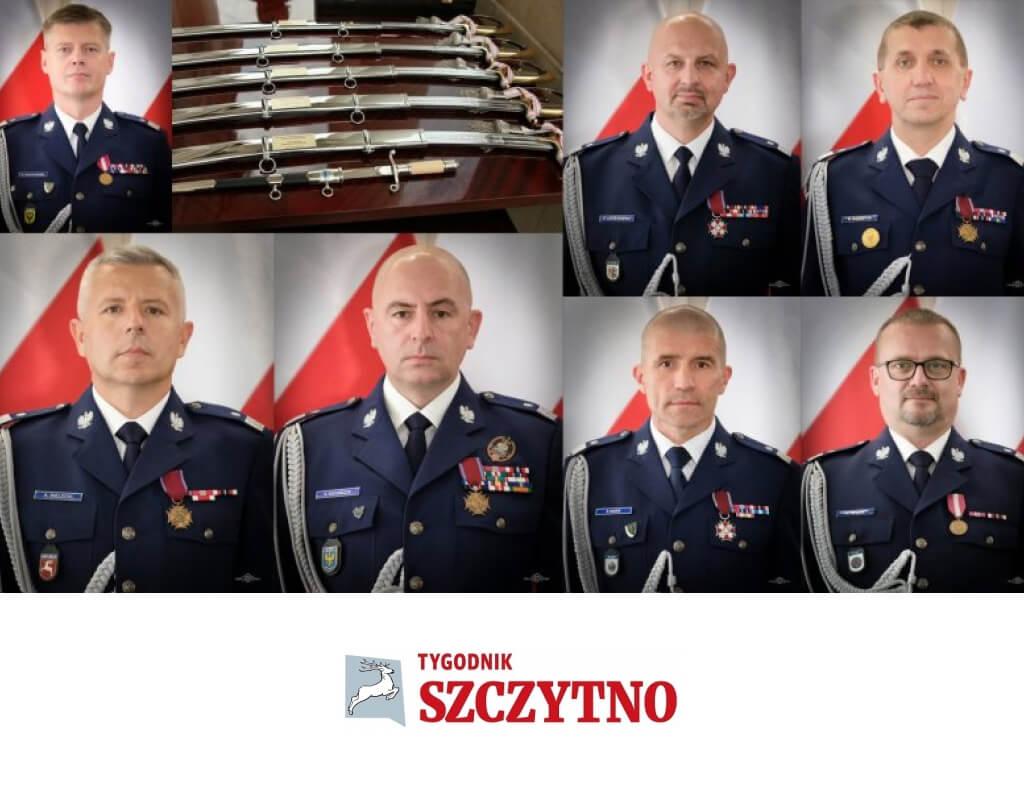 Siedmiu nowych generałów wPolicji