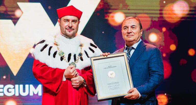 Uroczyste wręczenie Złotych Medali Collegium Humanum