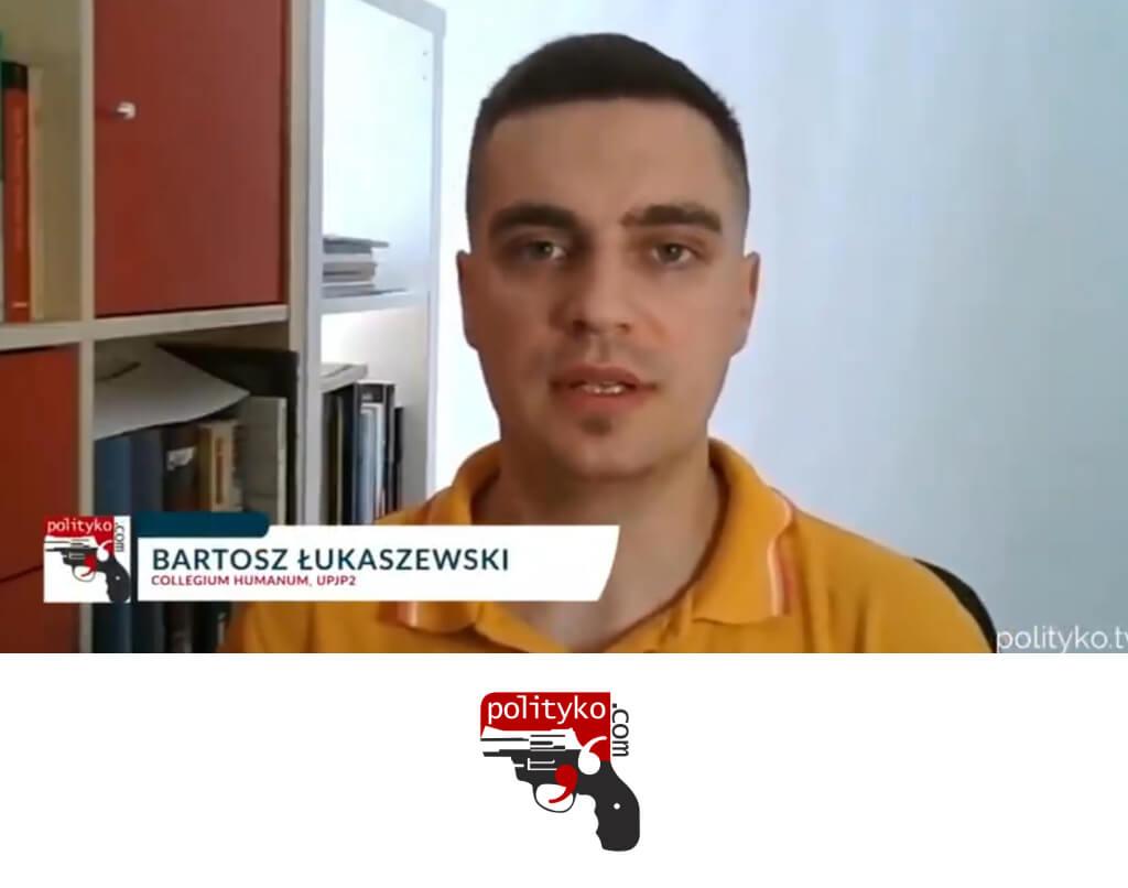 """dr Bartosz Łukaszewski, Polityko TV, wywiad natemat organizacji RAF (Baader-Meinhof) iradykalizacji """"fałszywej świadomości"""""""