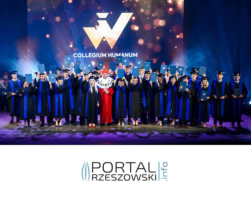 Uroczysta graduacja studentów Collegium Humanum