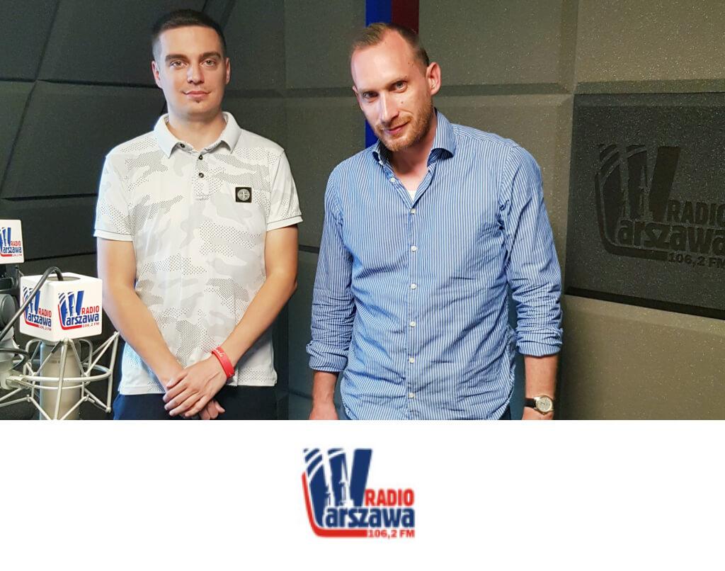 """dr Bartosz Łukaszewski, cykl audycji """"Warszawa Pamięta"""", Radio Warszawa"""