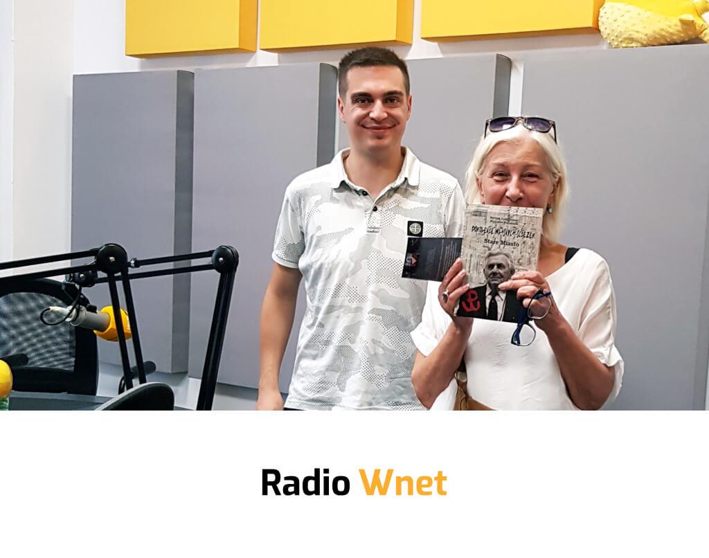 """dr Bartosz Łukaszewski, audycja """"Radio Solidarność"""", Radio Wnet, natemat budowania kapitału społecznego poprzez pamięć zbiorową"""