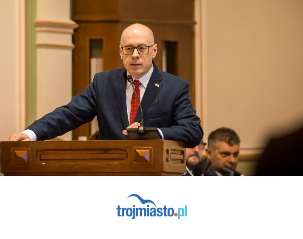 Szef Klubu PiS wGdańsku został wiceprezesem wPorcie Gdynia