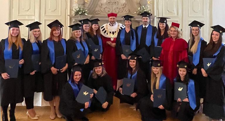 Uroczysta graduacja Absolwentów we Frýdku-Místku (Czechy)